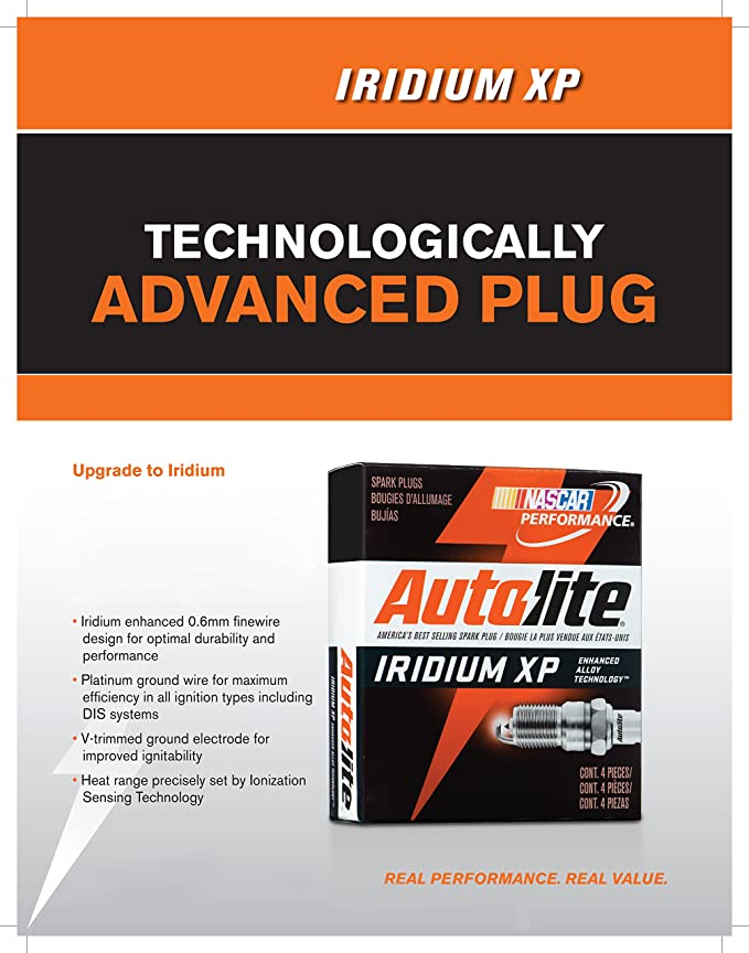 Amazon.com: Autolite XP5702-4PK Iridium XP Spark Plug, Pack of 4: Automotive