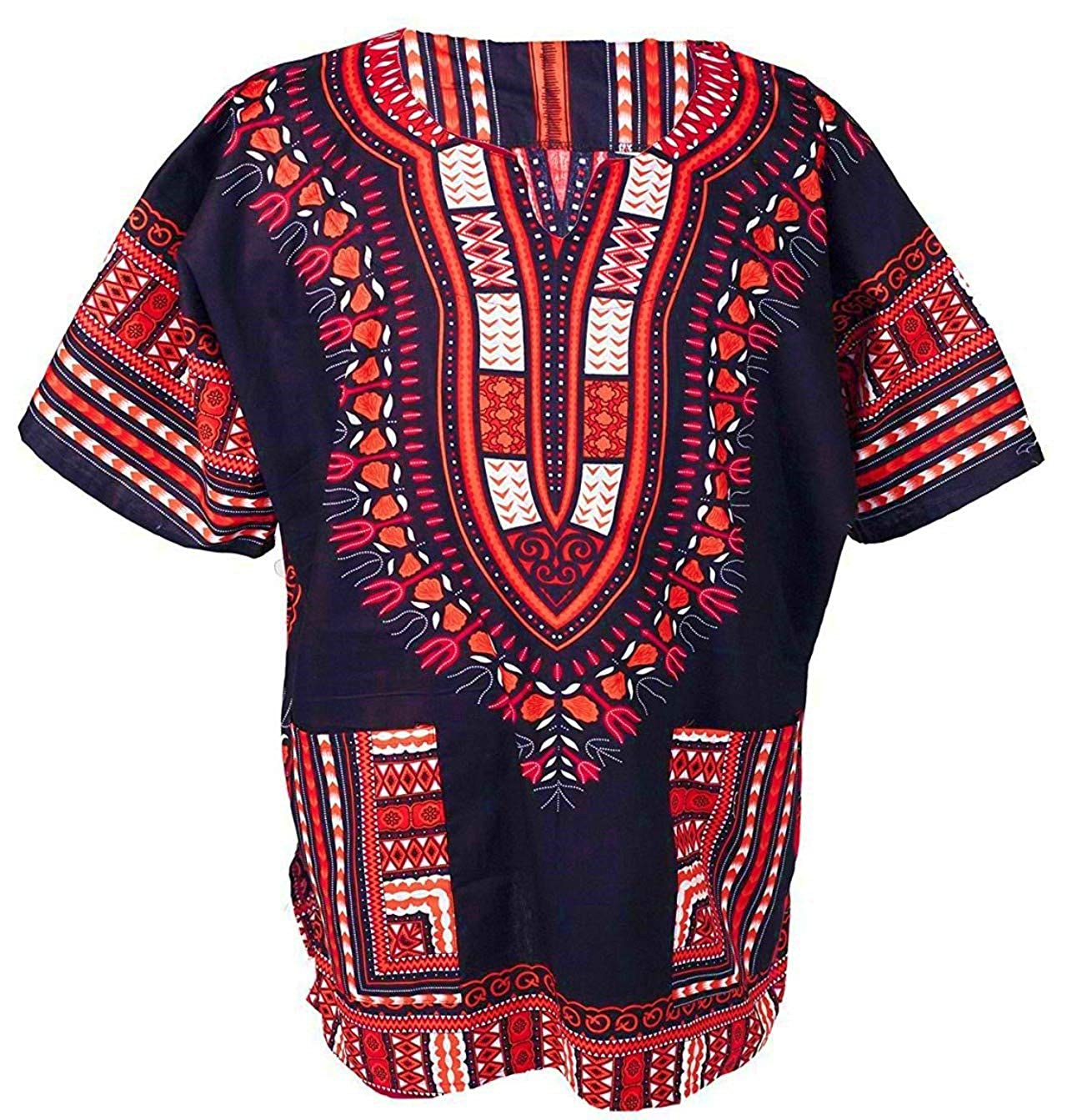 3215490a1b820 Produced from 100% quality cotton  This beautiful African Bright Dashiki  Cotton Shirt is produced from 100% quality cotton. This is because we value  your ...