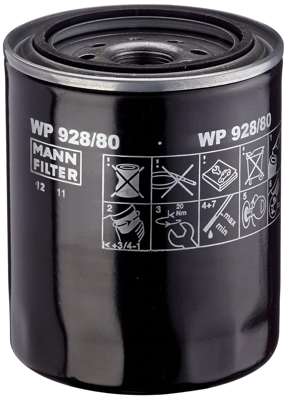 Mann Filter WP928//80 Filtre /à Huile