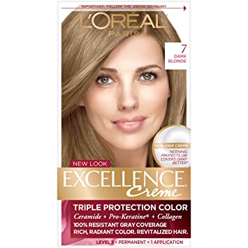Amazon Com L Oreal Paris Excellence Creme Permanent Hair Color 7