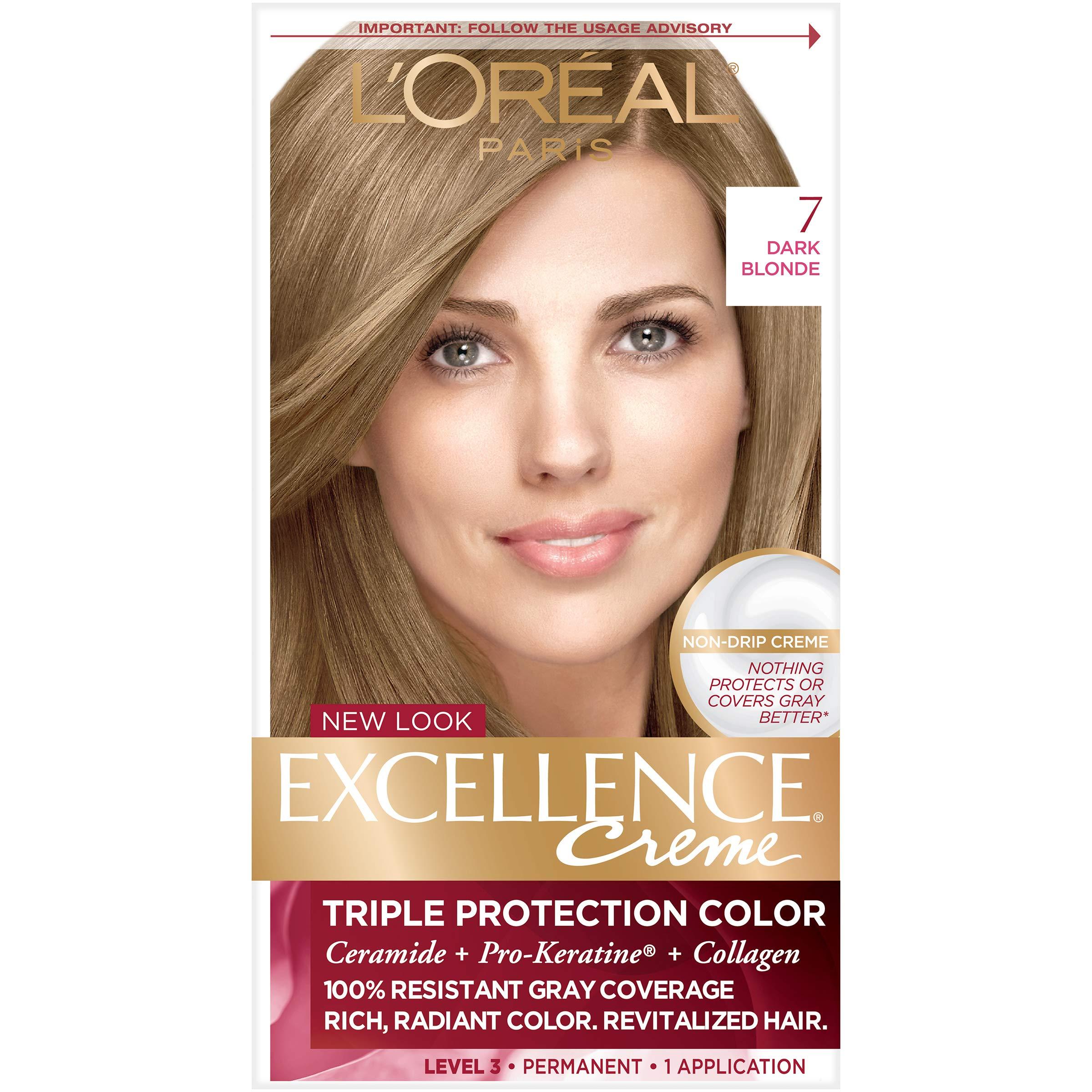 Amazoncom Loréal Paris Excellence Créme Permanent Hair Color 7