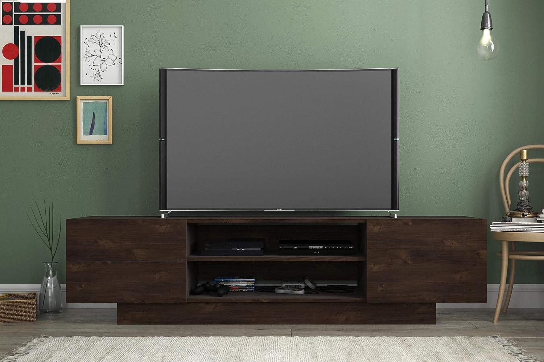 Nexera Morello, Truffle 72-inch TV Stand,