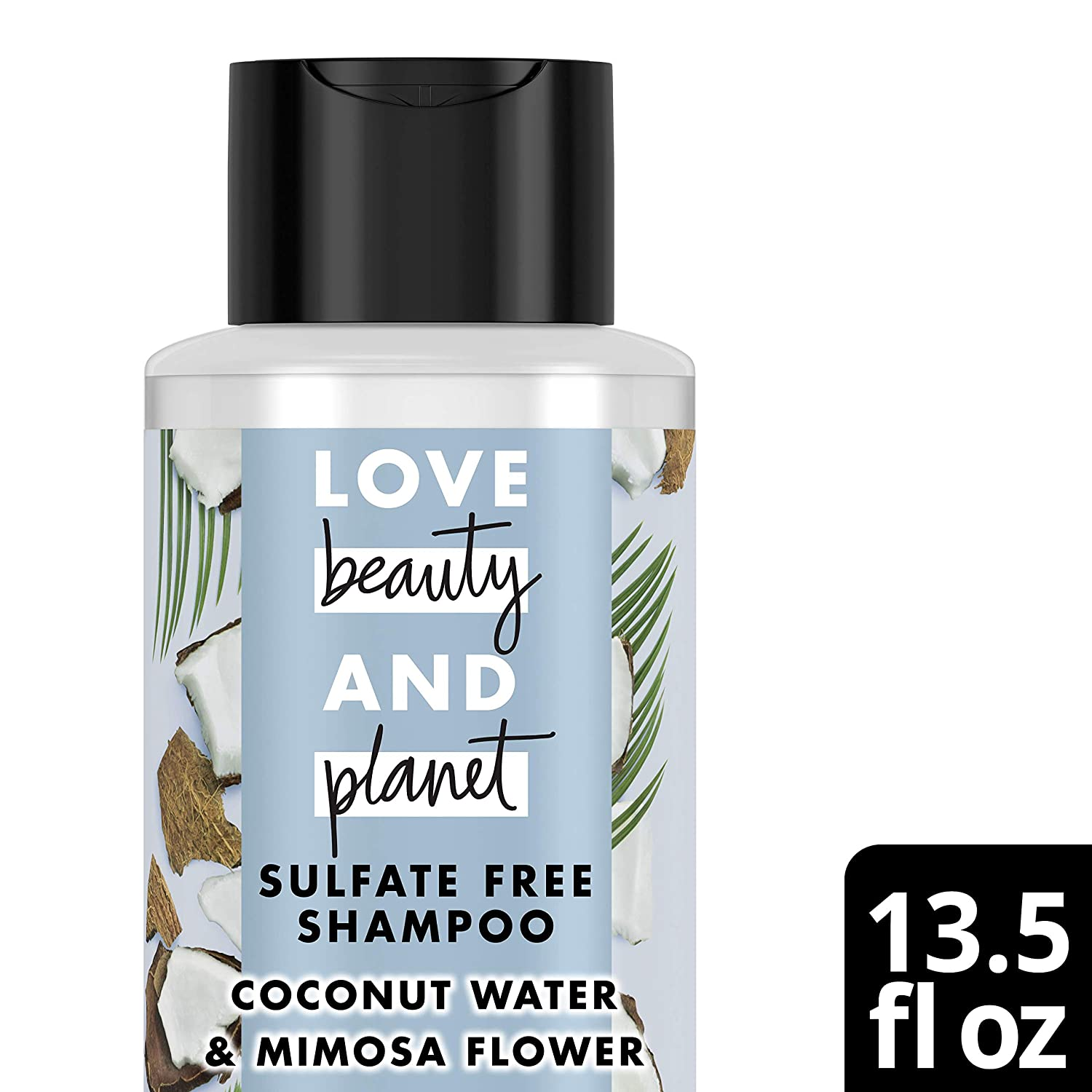 Love Beauty and Planet Volume and Bounty Shampoo, Coconut Water & Mimosa Flower, 13.5 oz