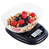 Duronic KS2000 Oval Digital Display 5KG Kitchen Scales with Clear Mixing Bowl and 2 Years FREE Warranty …