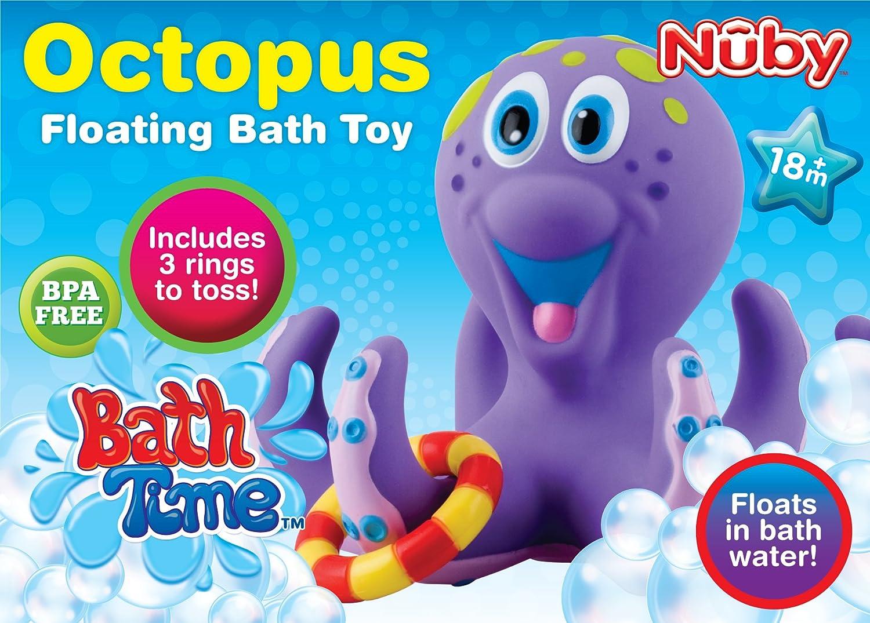 Nuby Octopus Hoopla Bathtime  Toys
