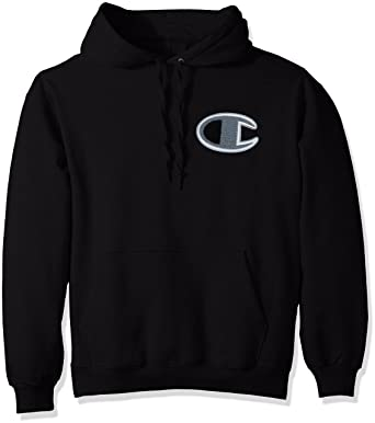 Amazon.com  Champion LIFE Men s Heavy Weight Pullover Fleece Hoodie ... b6b1d3b859