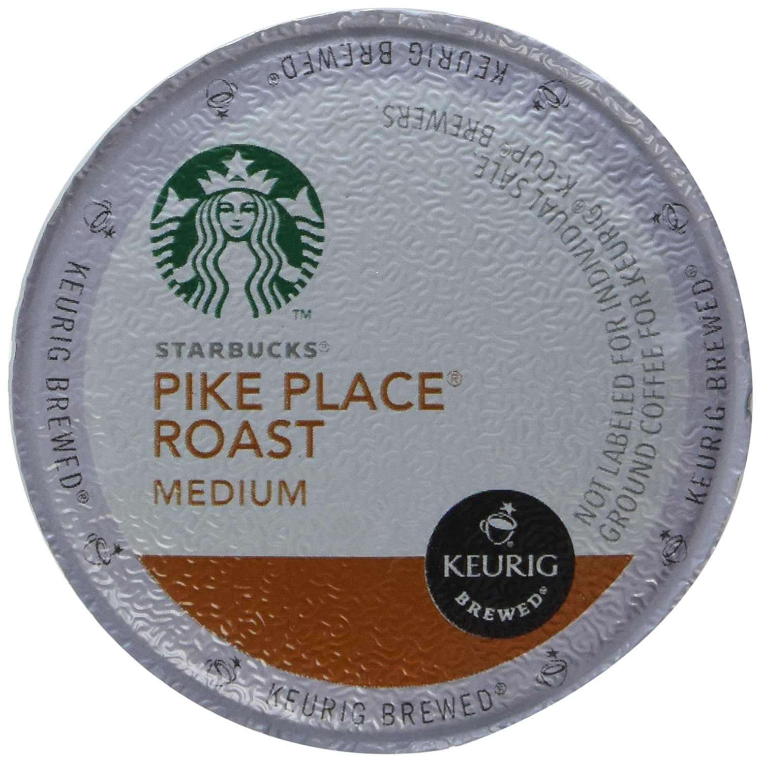 Starbucks Pike Place Roast, K-Cup Portion Pack for Keurig K-Cup Brewers, 24 K-Cups (Pack of 2)