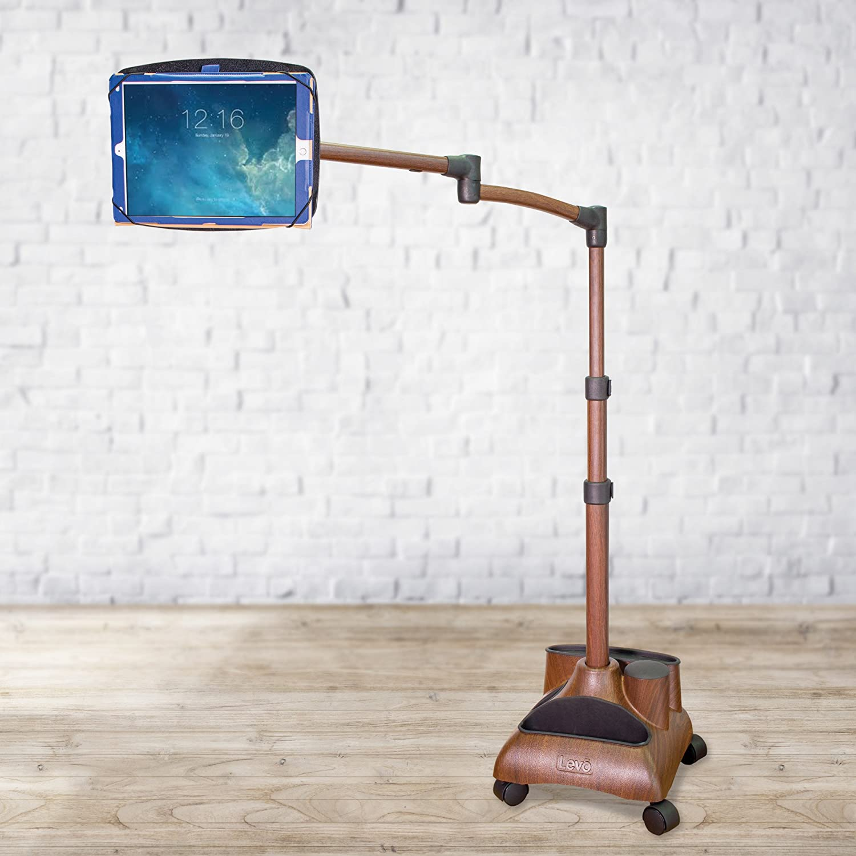 Amazon.com: LEVO G2 Amped Deluxe Table Floor Stand With Dual USB Charging  for all Best Tablet PCs, iPad, iPad Mini, iPad Pro, Galaxy, Nexus, Xoom, ...