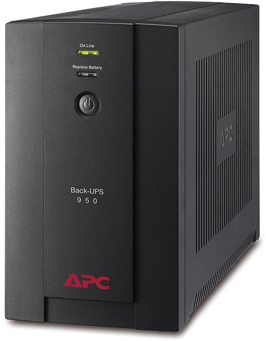 742 opinioni per APC Back-UPS BX Gruppo di continuità UPS 950VA BX950U-GR- AVR, 4 Uscite Schuko,