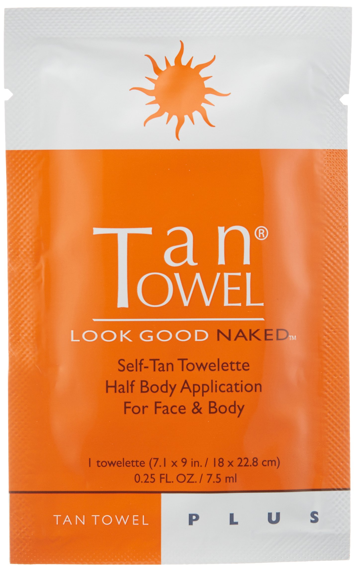 Tan Towel Self Tan Towelette Plus, 50 Count by Tan Towel (Image #3)