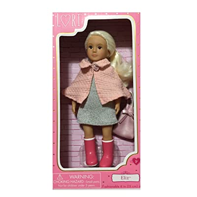 Lori Mini Fashion Doll Blonde Hair Named Eliz: Toys & Games