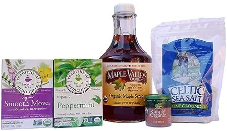 Maple Valley 5 Day Organic Master Cleanse Lemonade Detox Kit