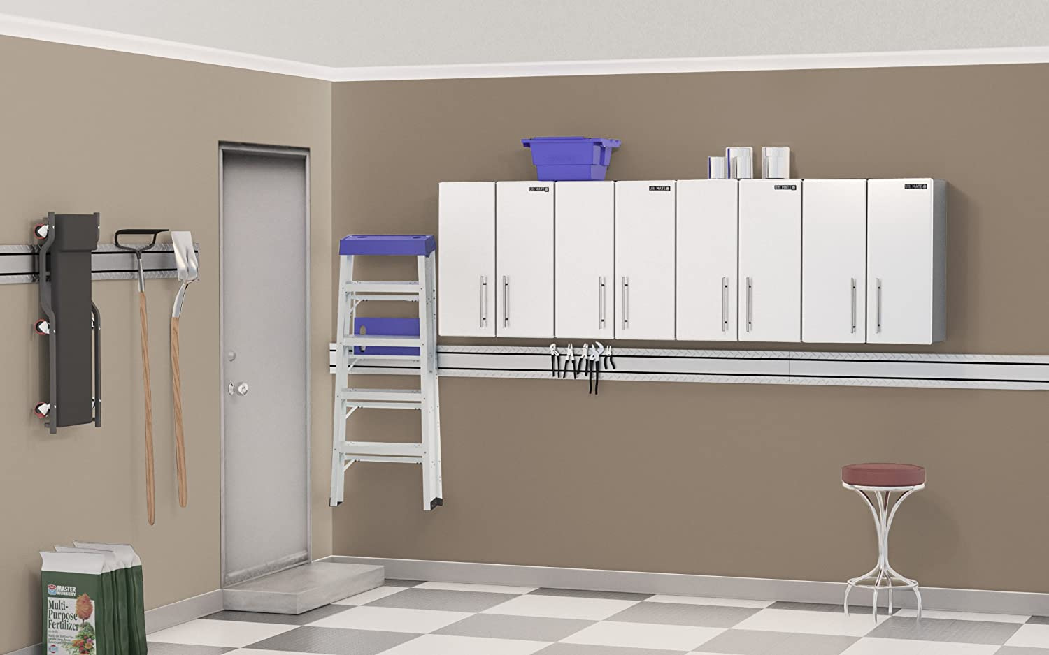 Ulti mate storage 4 piece wall cabinet kit garage storage and ulti mate storage 4 piece wall cabinet kit garage storage and organization systems amazon solutioingenieria Image collections