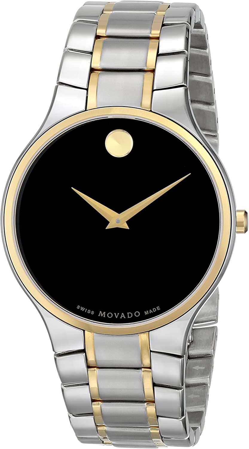 Movado Men s 0606388 Serio Stainless Steel Watch