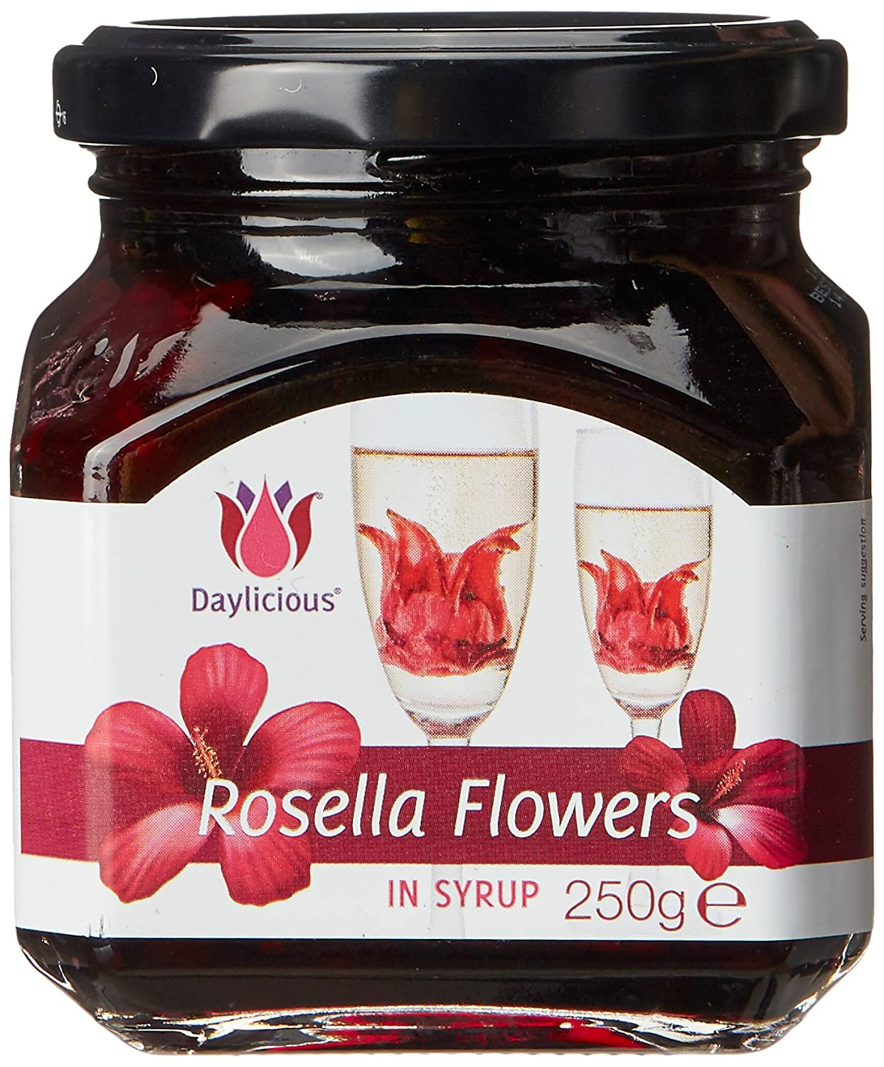 Daylicious edible rosella flowers in syrup 250 gm 11 flowers in daylicious edible rosella flowers in syrup 250 gm 11 flowers in syrup amazon grocery gourmet foods dhlflorist Choice Image