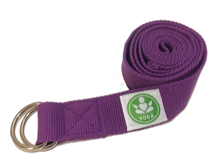 Amazon.com : Path of Yoga Straps (Purple) : Sports & Outdoors