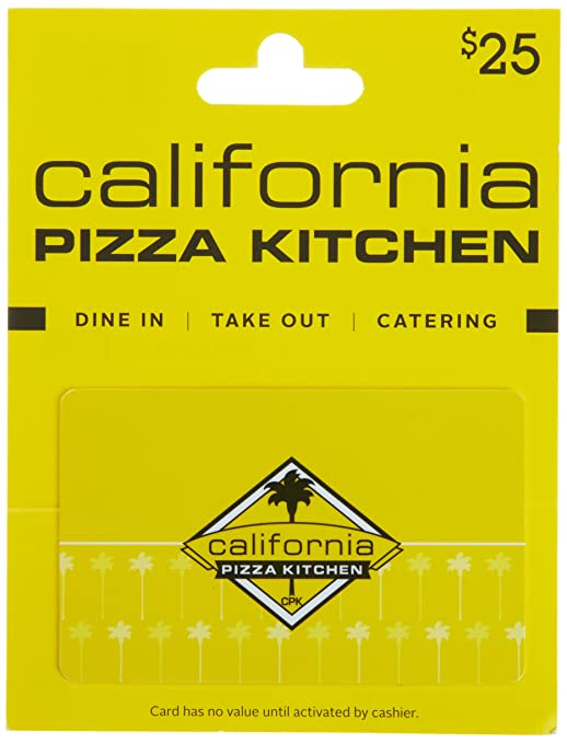 Amazon.com: California Pizza Kitchen Gift Card $25: Gift Cards