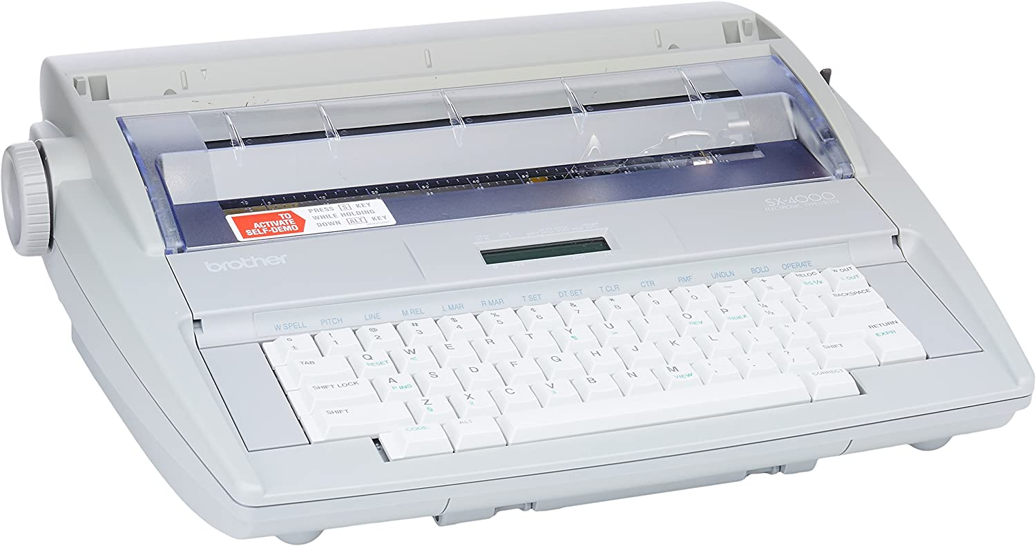 B0000636X8 Brother SX-4000 Electronic Typewriter 81oDSzhYC8L