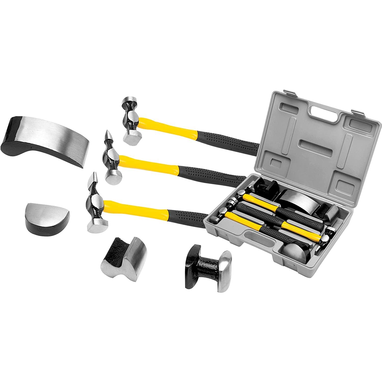 Performance Tool W1007DB 7-Piece Auto Body Repair Kit Wilmar