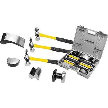 Performance Tool M7007 Auto Body Repair Kit, 7-Piece - Hand Tool Sets - Amazon.com