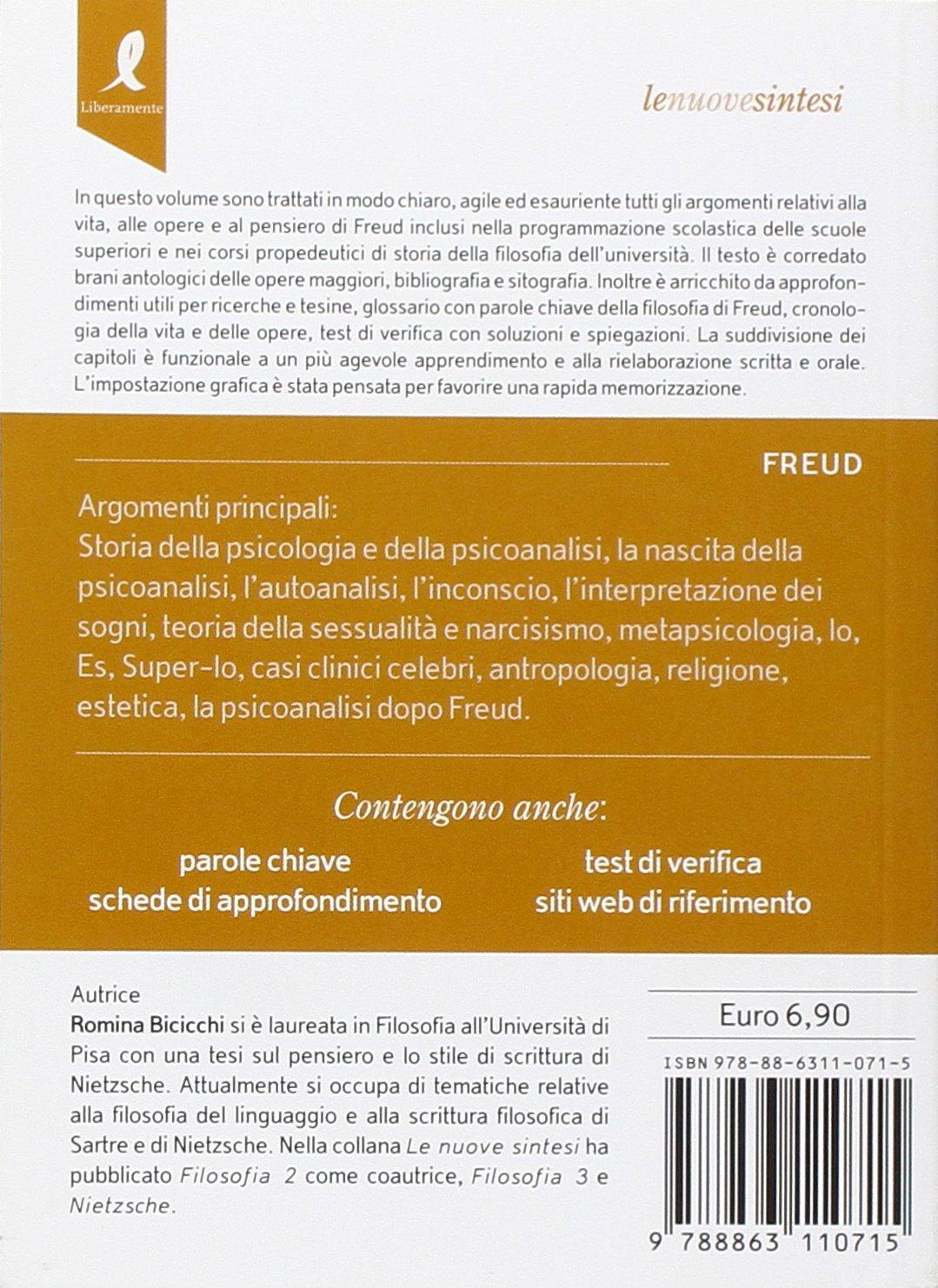 Sigmund Freud E La Psicoanalisi 9788863110715 Amazoncom Books