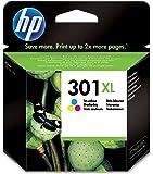 HP 301XL - Cartucho de tinta para HP Deskjet 1000, 1050, 2050, 3000 y 3050