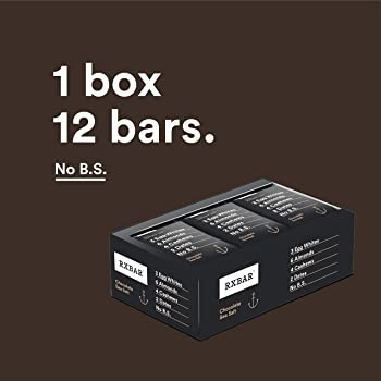 12-Pack Rxbar Chocolate Sea Salt Gluten Free Protein Bar, 1.83 Ounce