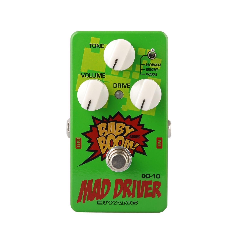Amazon Biyang Od 10 Mad Driver Guitar Pedal Musical Instruments