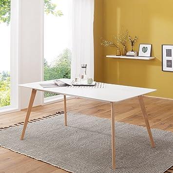 Finebuy Esszimmertisch Fb5043 180x76x90 Cm Aus Mdf Holz Esstisch