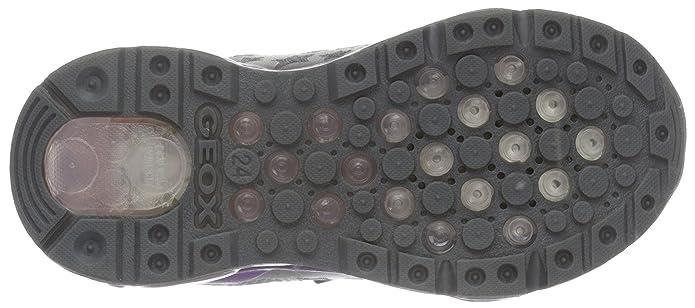 sports shoes 6805b a16da Geox J Android Girl a, Zapatillas Para Niñas, Rosa (Pink DK Fuchsia