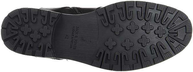JACK   JONES Herren Jfworca Leather Black Klassische Stiefel  Amazon.de   Schuhe   Handtaschen 3cb78969e8
