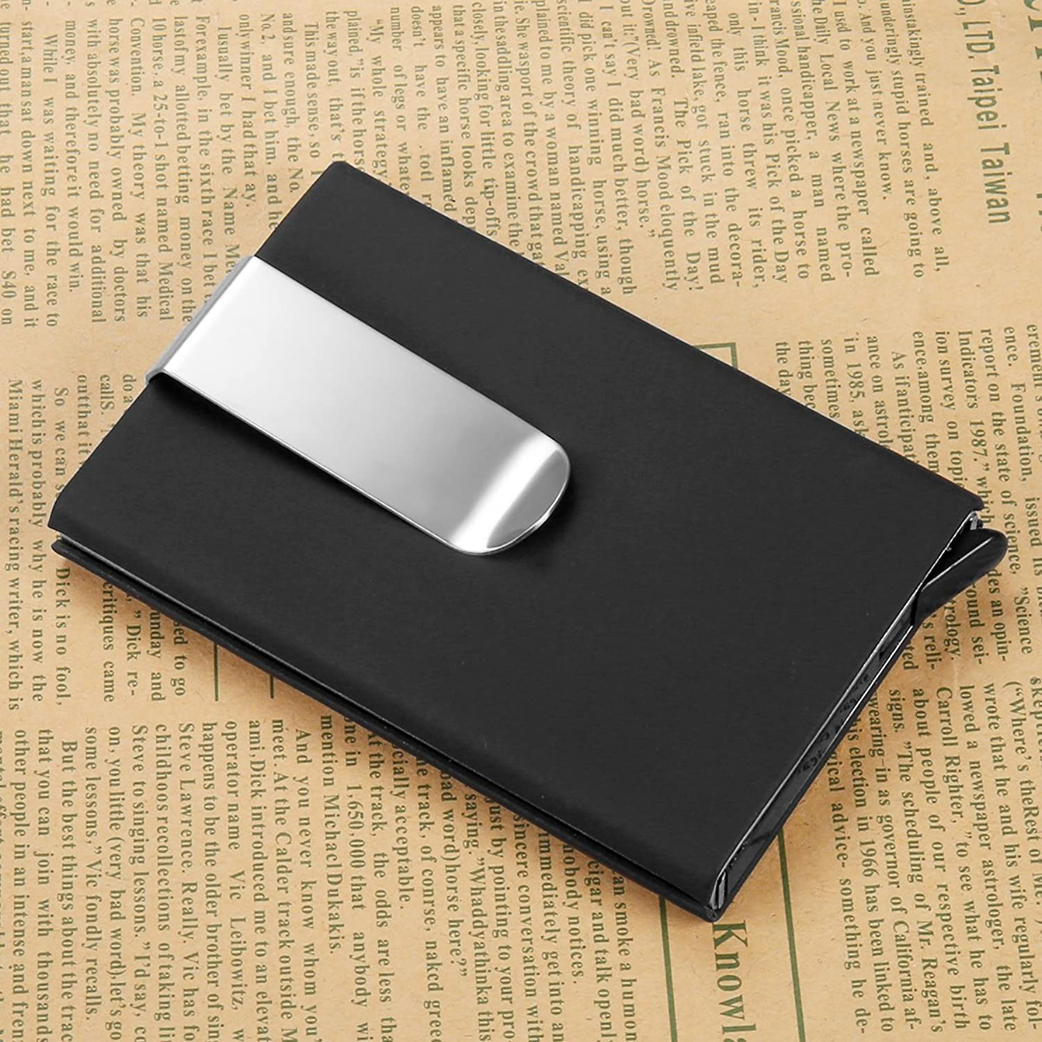 Amazon Com Manchda Rfid Slim Mini Wallet Elite Men S Card Holder