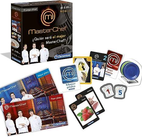 Máster Chef- Juego Oficial (Clementoni 55014): Amazon.es: Juguetes y juegos