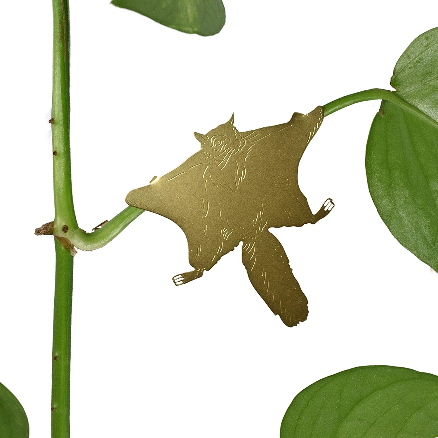USWire Brass Animal Plant Hanger Variety 6 Pack Decoration for Plants