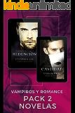 Redención y Castidad (Pack 2 libros): Romance paranormal, vampiros (Guardianes de Sangre 1 y 2) (Spanish Edition)