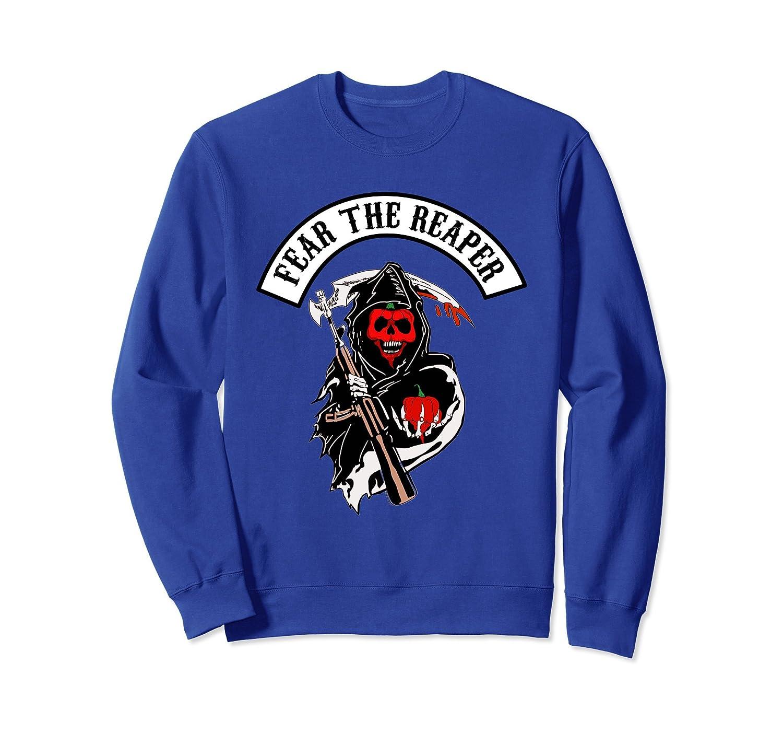 Carolina Reaper Fear The Reaper Sweatshirt Womens Mens-mt
