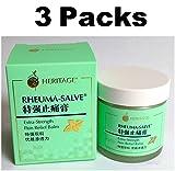3 Packs - 50g Heritage Rheuma-Salve