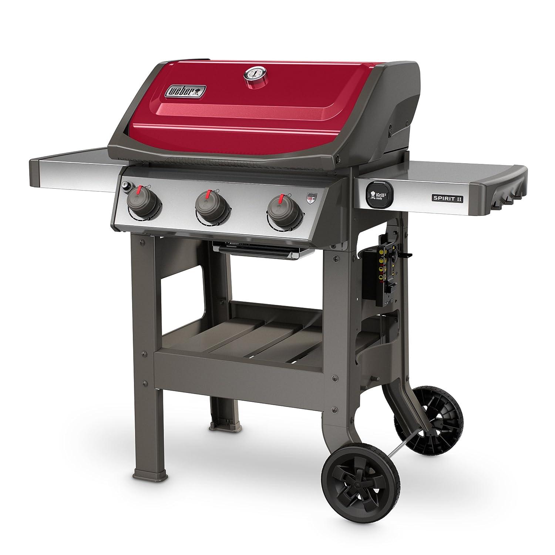 Weber 45030001 Spirit Ii E 310 Red Lp Outdoor Gas Grill
