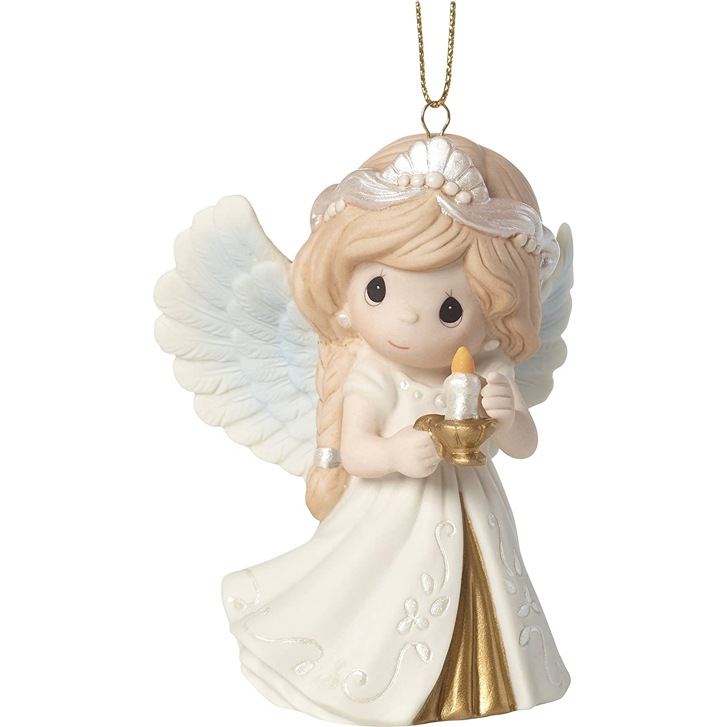 "Amazon Precious Moments""He Is The Light Angel Ornament"