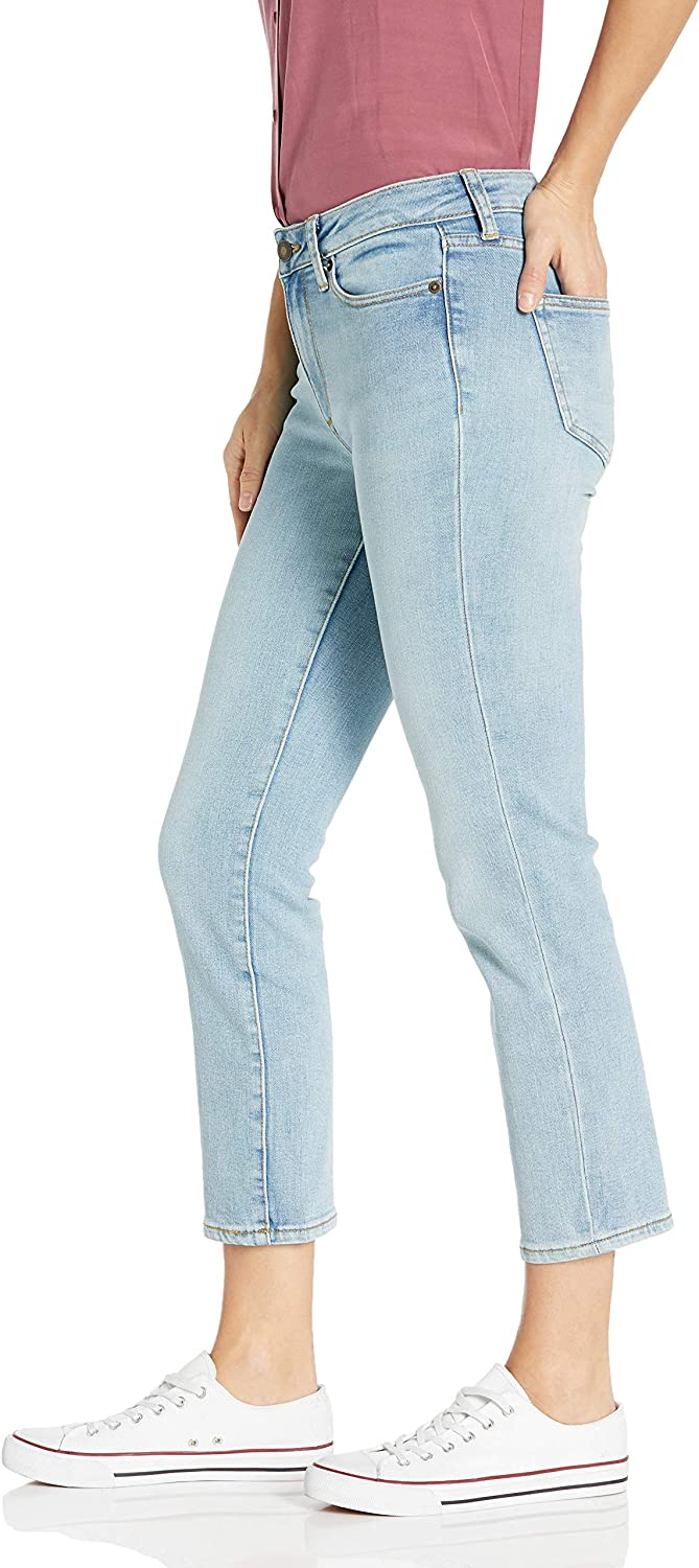 Brand Goodthreads Womens Mid-Rise Crop Straight Jeans