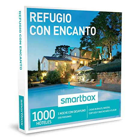 SMARTBOX - Caja Regalo - REFUGIO CON ENCANTO - 1000 casas rurales, masías, cortijos