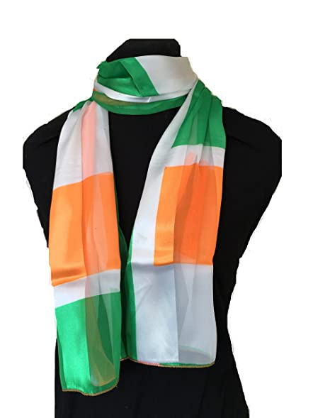 Pamper yourself now womens ireland flag scarf thin pretty scarf pamper yourself now womens ireland flag scarf thin pretty scarf 150cm x 50cm ireland flag solutioingenieria Image collections