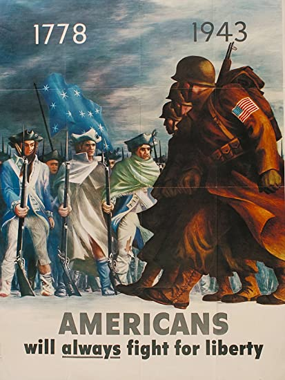 Amazon com: World War 2 Poster WW2 Poster Patriotic Poster 18x24