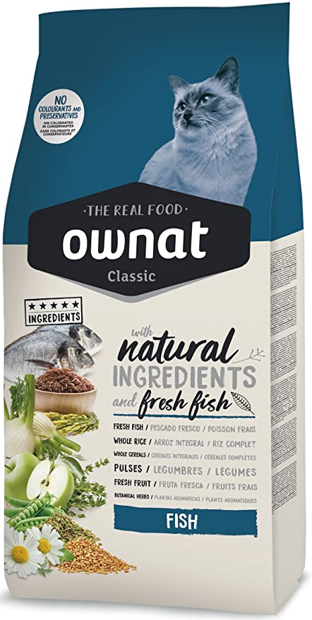 Ownat Classic Fish Cat Alimento para Gatos - 1500 gr