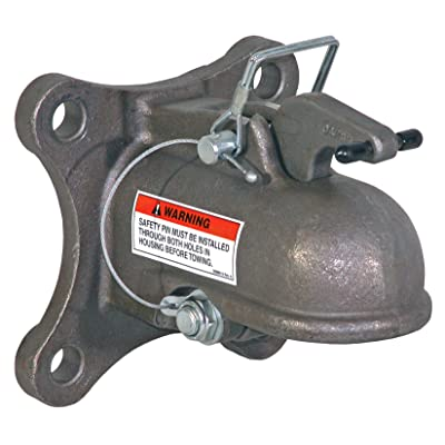 """Buyers Products (0091558 2-5/16\"""" Heavy Duty Cast Coupler with 4-Hole Mounting Plate: Automotive [5Bkhe0104803]"""