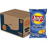 Lay's Chips Paprika, Doos 12 stuks x 120 g