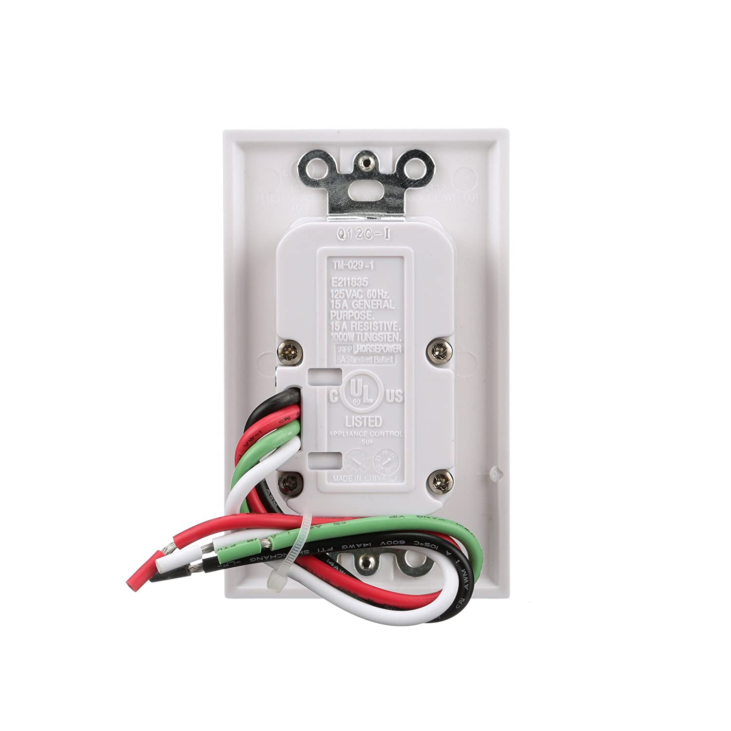 Woods 59018WD In-Wall 7-Day Digital Timer - Wall Timer Switches ...