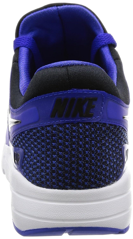 NIKE Air Max Zero Essential Mens Running Shoes B01MY8VM03 6 D(M) US|Black/Black-paramount Blue-binary Blue