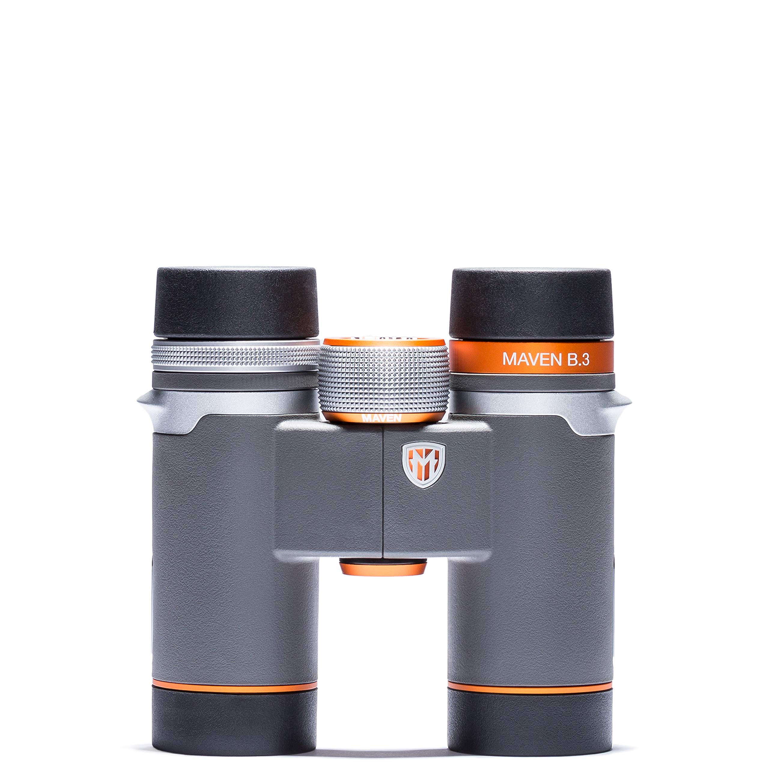 Maven B3 8X30mm ED Compact Binoculars Gray/Orange by Maven