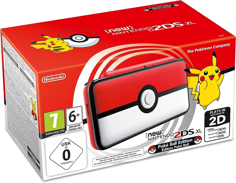 New Nintendo 2DS XL Poké Ball - Limited Edition [Importación italiana]: Amazon.es: Videojuegos